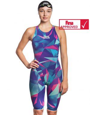Sacensību peldkostīms Bodyshell Women Short Leg Fina Approved 2010