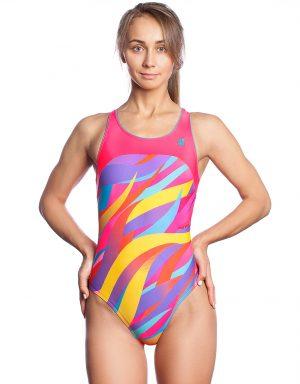 Sieviešu sporta peldkostīms SWIRL