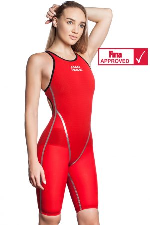 Sacensību peldkostīms Forceshell 2018 Women open back – FINA Apstiprināts
