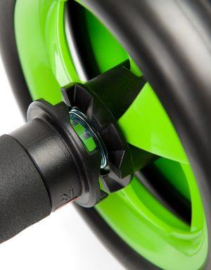 Exercise wheel with stopper – fitnesa rullis ar bremzēm