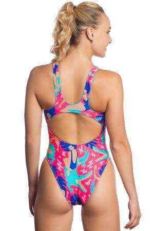 Sieviešu sporta peldkostīms Flex F6