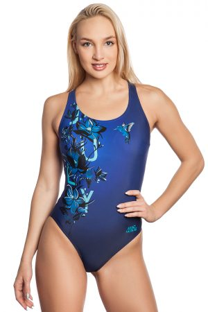 Sieviešu sporta peldkostīms Wave W1