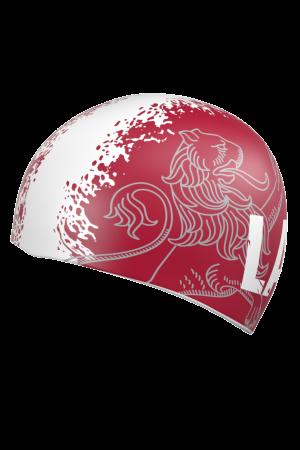 PIEEJAMAS: Latvijas karoga krāsu peldcepure