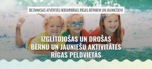 Read more about the article Rīgas peldvietās notiks bezmaksas nodarbības par drošu atpūtu uz ūdens